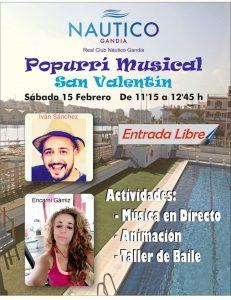 Popurrí musical San Valentín 2020