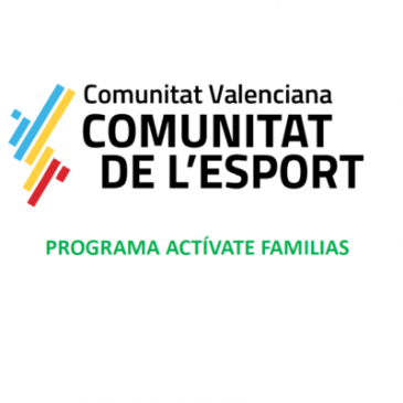 Programa Actívate Familias