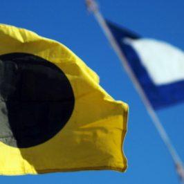 Banderas regata Náutico Gandia