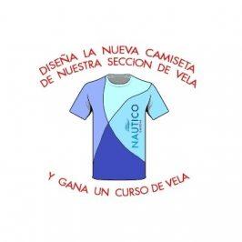 Concurso diseño camiseta vela Náutico Gandia